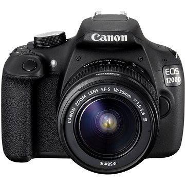 Canon EOS 1200D + EF-S 18-55mm DC III (9127B009AA) + ZDARMA Fotobrašna Lowepro Format TLZ 20