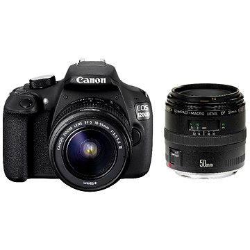 Canon EOS 1200D + EF-S 18-55mm DC III + EF 50mm F1.8 (9127B054) + ZDARMA Film k online zhlédnutí Hledání Vivian Maier (dárek od Canonu)