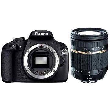 Canon EOS 1300D tělo + Tamron 18-270mm F/3.5-6.3 + ZDARMA Poukaz Elektronický dárkový poukaz Alza.cz v hodnotě 1000 Kč, platnost do 28/2/2017