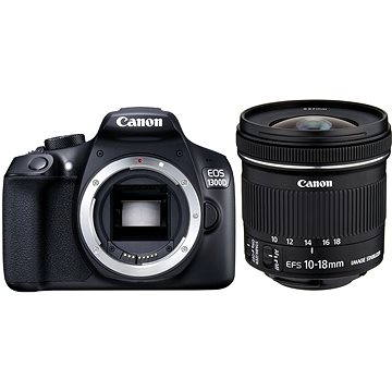 Canon EOS 1300D + 10-18mm F4.5-5.6 IS STM + EW-73C