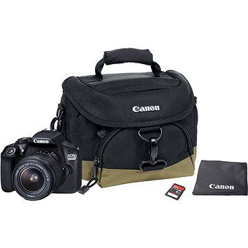 Canon EOS 1300D + EF-S 18-55mm DC III Value Up Kit (1160C057) + ZDARMA Stativ Hama Star 62
