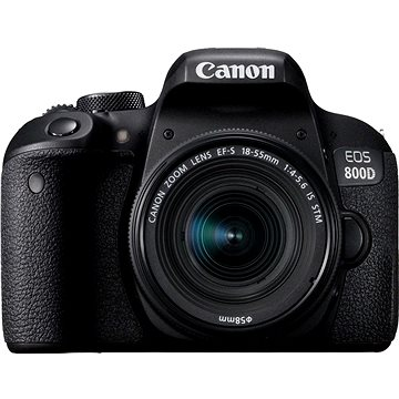 Canon EOS 800D černý + 18-55mm IS STM (1895C002AA)