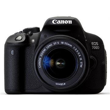 Canon EOS 700D + EF-S 18-55mm IS STM (8596B032)