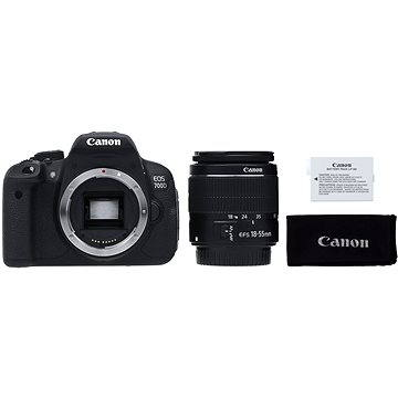 Canon EOS 700D + EF-S 18-55mm IS STM + LP-E8 (8596B091)
