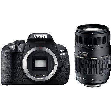 Canon EOS 700D tělo + Tamron 70-300mm Macro