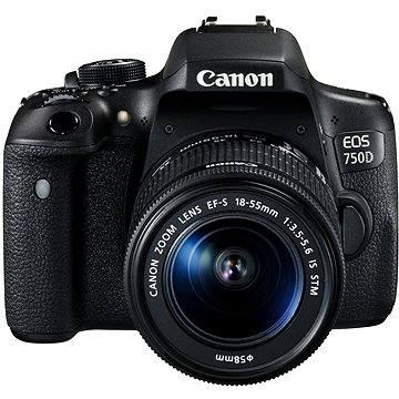 Canon EOS 750D + EF-S 18-55mm IS STM (0592C025)
