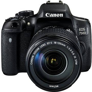 Canon EOS 750D + EF-S 18-135mm IS STM (0592C032AA)