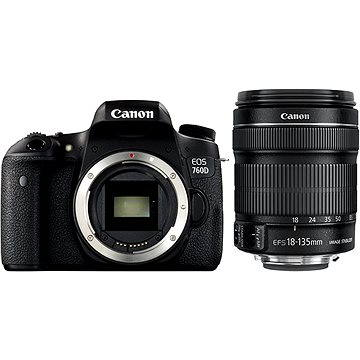 Canon EOS 760D tělo Black + Canon 18-135mm IS STM (0021C012AA)