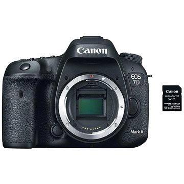Canon EOS 7D Mark II tělo + adaptér W-E1 (9128B162)
