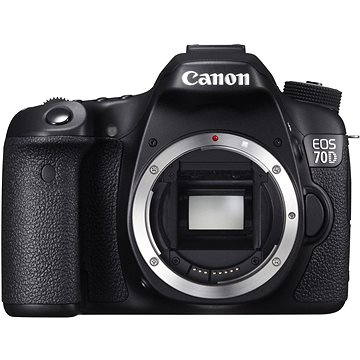 Canon EOS 70D body (8469B029) + ZDARMA Brašna na fotoaparát Lowepro Format TLZ 20 Paměťová karta SanDisk SDXC 64GB Extreme PRO 95 Class 10 UHS-I (U3)