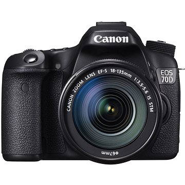 Canon EOS 70D body + 18-135mm IS STM (8469B043)