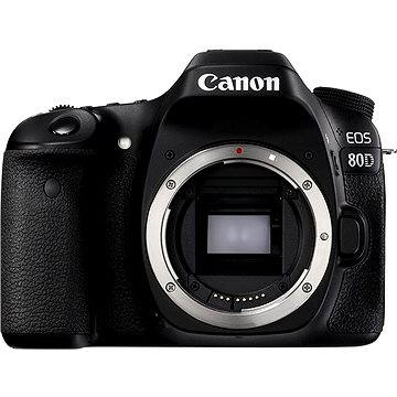 Canon EOS 80D tělo (1263C032AA) + ZDARMA Paměťová karta Lexar 32GB SDHC 200x Premium (Class 10)