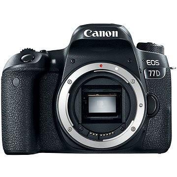 Canon EOS 77D tělo (1892C003AA) + ZDARMA Paměťová karta Lexar 32GB SDHC 200x Premium (Class 10) Příslušenství Terronic Odrazná deska 5-in-1 / 80cm
