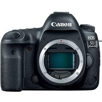 Canon EOS 5D Mark IV tělo (1483C025AA) + ZDARMA Paměťová karta Lexar 32GB SDHC 200x Premium (Class 10) Objektiv Canon EF 50mm f/1,8 STM