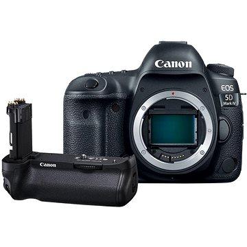 Canon EOS 5D Mark IV tělo + bateriový grip BG-E20 + ZDARMA Paměťová karta Lexar 32GB SDHC 200x Premium (Class 10) Objektiv Canon EF 50mm f/1,8 STM 2x Paměťová karta SanDisk SDHC 32GB Ultra Class 10 UHS-I