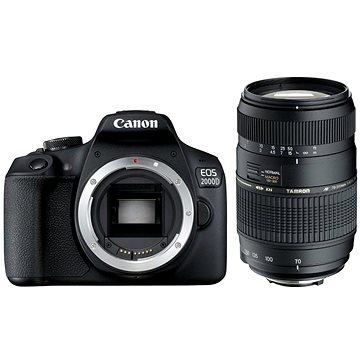 Canon EOS 2000D + TAMRON AF 70-300mm f/4-5,6 Di pro Canon LD Macro 1:2