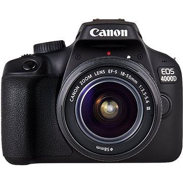 Canon EOS 4000D + EF-S 18–55 mm DC III + EF 75–300 mm DC III(3011C010)