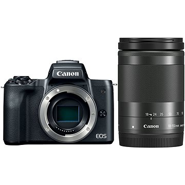 Canon EOS M50 černý + EF-M 18-150 mm IS STM (2680C042)