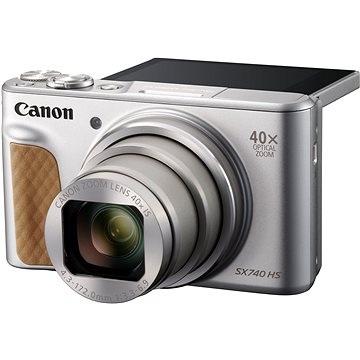 Canon PowerShot SX740 HS stříbrný (2956C002AA)