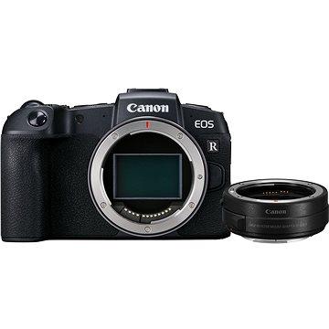 Canon EOS RP černý + EF-EOS R adaptér (3380C023)