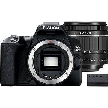 Canon EOS 250D čierny + EF-S 18–55 mm IS STM + LP-E17(3454C022)