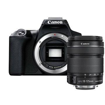 Canon EOS 250D černý + 18-135mm IS STM (3454C019)