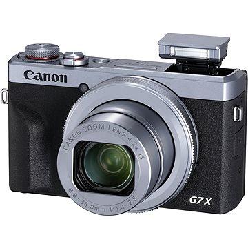 Canon PowerShot G7 X Mark III stříbrný (3638C002)