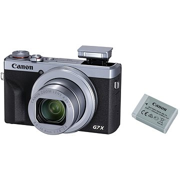 Canon PowerShot G7 X Mark III Battery Kit stříbrný (3638C014)