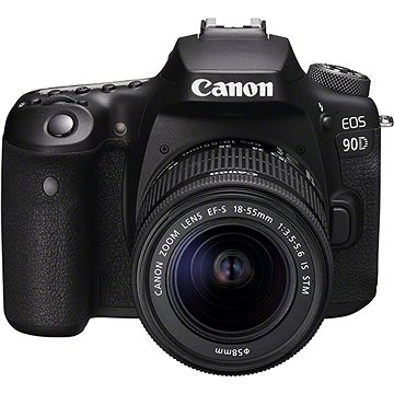 Canon EOS 90D + 18–55 mm IS STM(3616C010)