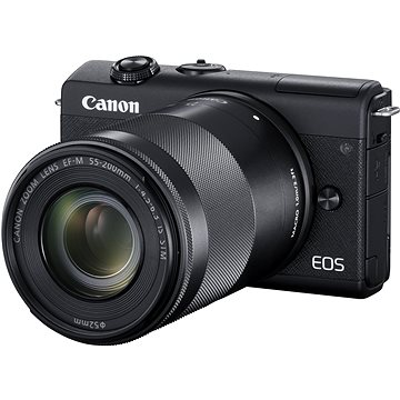 Canon EOS M200 + EF-M 15-45mm f/3.5-6.3 IS STM + EF-M 55-200mm f/4.5-6.3 IS STM (3699C018)