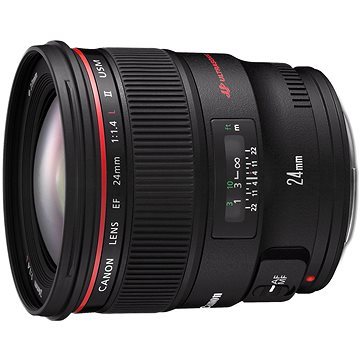 Canon EF 24mm F1.4 L II USM (2750B005) + ZDARMA UV filtr HOYA 77mm FUSION Antistatic