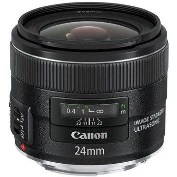Canon EF 24mm F2.8 IS USM (5345B005) + ZDARMA UV filtr HOYA 58mm FUSION Antistatic