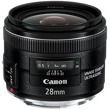 Canon EF 28mm F2.8 IS USM (5179B005) + ZDARMA UV filtr HOYA 58mm FUSION Antistatic