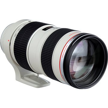 Canon EF 70-200mm F2.8 L USM Zoom (2569A022) + ZDARMA Čistící utěrka Hama utěrka MICRO OPTIC-CLEANER UV filtr HOYA 77mm FUSION Antistatic