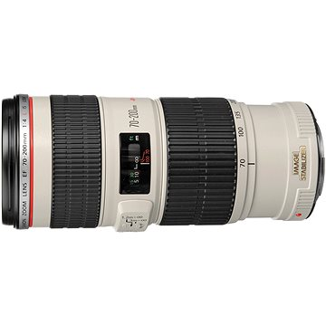 Canon EF 70-200mm F4.0 L IS USM Zoom (1258B009) + ZDARMA Čisticí utěrka Hama utěrka MICRO OPTIC-CLEANER