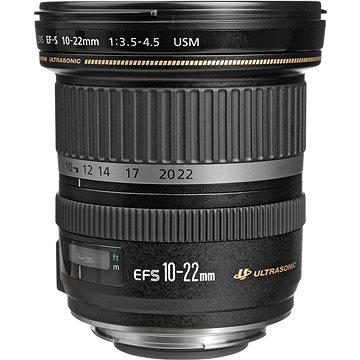 Canon EF-S 10-22mm F3.5 - 4.5 USM Zoom černý (9518A030AA) + ZDARMA Kalkulačka Canon LS-100K zelená Čisticí utěrka Hama utěrka MICRO OPTIC-CLEANER