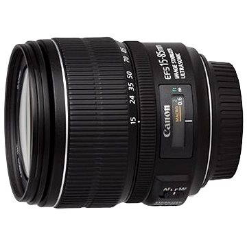 Canon EF-S 15-85mm F3.5 - 5.6 IS USM Zoom (3560B005) + ZDARMA UV filtr HOYA 72mm FUSION Antistatic