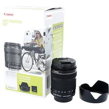 Canon EF-S 18-135mm f/3.5 - 5.6 IS STM + EW-73B (6097B013AA)