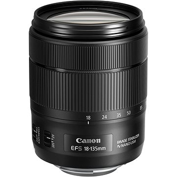 Canon EF-S 18-135mm f/3.5 - 5.6 IS USM (1276C005AA)