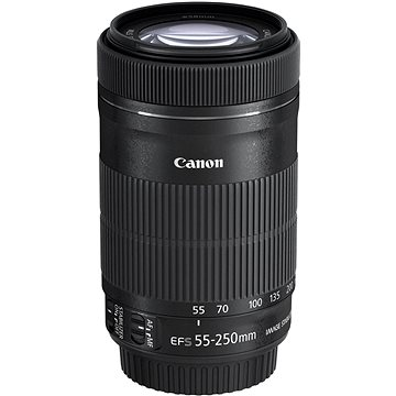 Canon EF-S 55-250mm F4.0 - 5.6 IS STM (8546B005) + ZDARMA Čistící utěrka Hama utěrka MICRO OPTIC-CLEANER