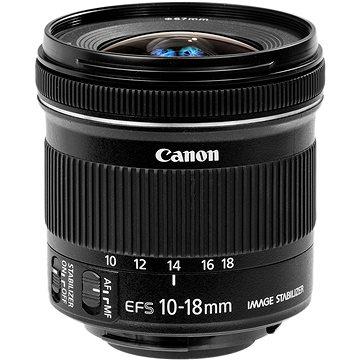 Canon EF-S 10-18mm f/4.5 - 5.6 IS STM + UV filtr HOYA 67mm Pro 1D DHMC + ZDARMA Kalkulačka Canon LS-100K zelená Čisticí utěrka Hama utěrka MICRO OPTIC-CLEANER