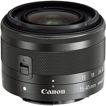 Canon EF-M 15-45mm f/3.5 - 6.3 IS STM Graphite (0572C005AA)
