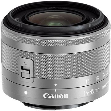 Canon EF-M 15-45mm f/3.5 - 6.3 IS STM Silver (0597C005AA)
