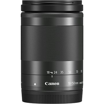 Canon EF-M 18-150mm f/3.5-6.3 IS STM černý (1375C005AA)