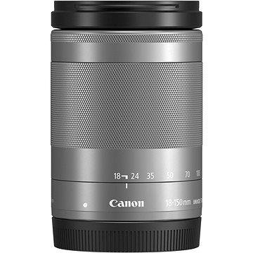 Canon EF-M 18-150mm f/3.5-6.3 IS STM stříbrný (1376C005AA)