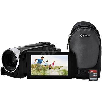 Canon LEGRIA HF R606 černá - Essentials kit (0280C045)