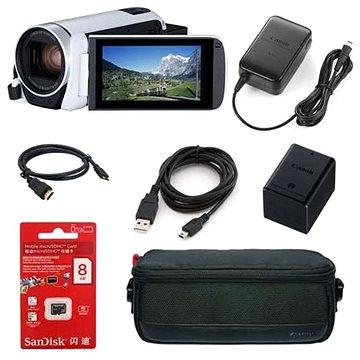 Canon Legria HF R806 kamera bílá - Essential kit (1960C018AA)