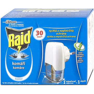 RAID elektrický odpařovač 1+21 ml (5000204751192)