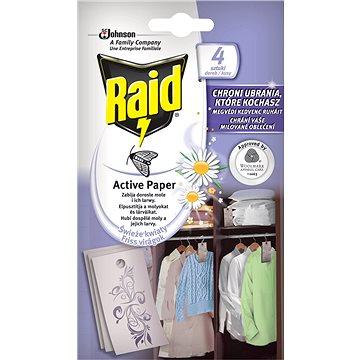 Raid Active Paper proti molům aktivní závěs čerstvé květy 12 kusů