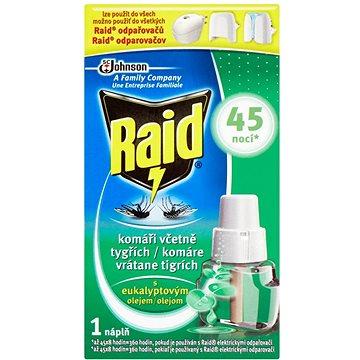 Odpuzovač hmyzu RAID elektrický odpařovač s eukalyptovým olejem 27 ml náplň (5000204880588)